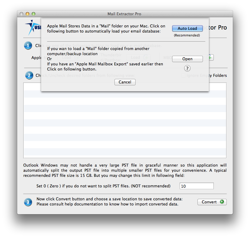 how to export apple mail to pst