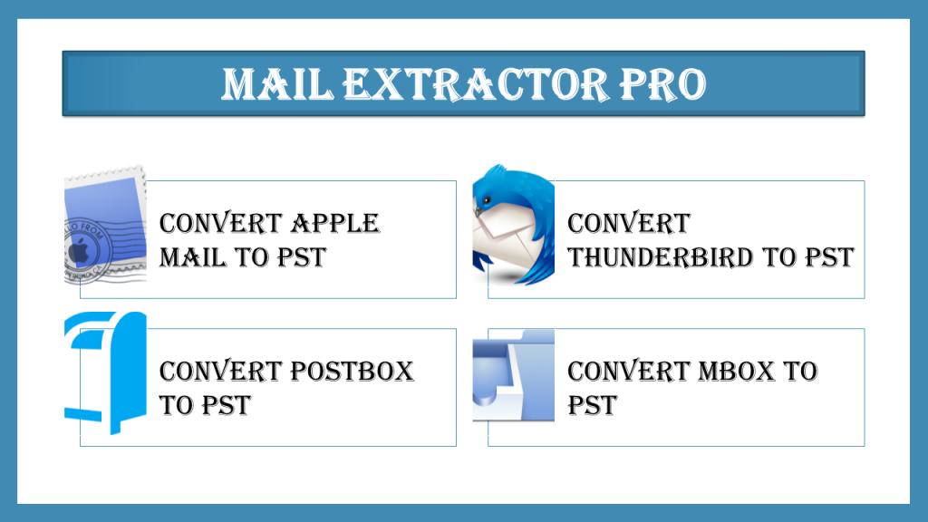Convert Thunderbird to Outlook PST free